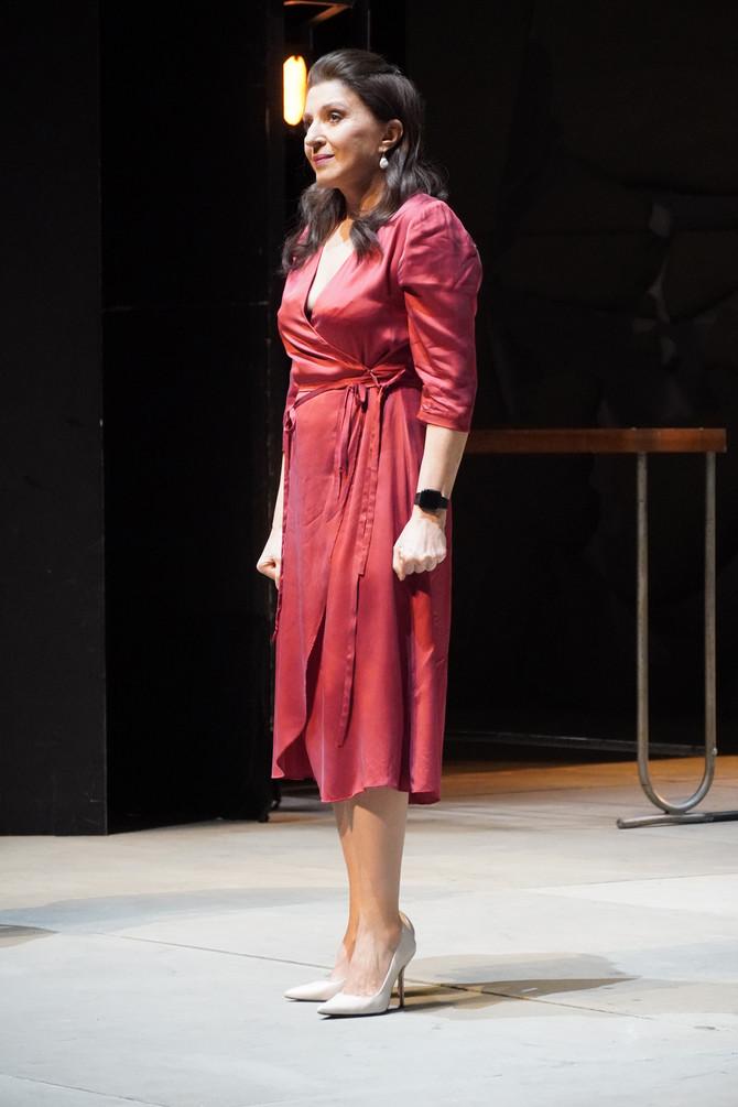 Mirjana Karanović u Jugoslovenskom dramskom pozorištu