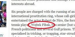 """O Fibaku piszą ohydne rzeczy. """"Independent"""" twierdzi..."""