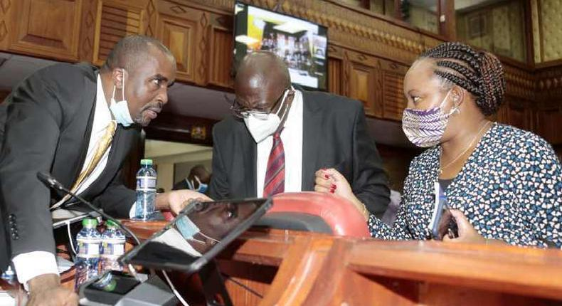 Anne Waiguru's husband. Kamotho Waiganjo, responds after being criticized for representing wife at impeachment trial