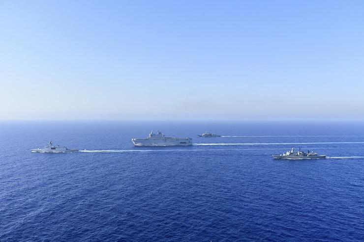 Grčka, Francuska, mornarica, Mediteran