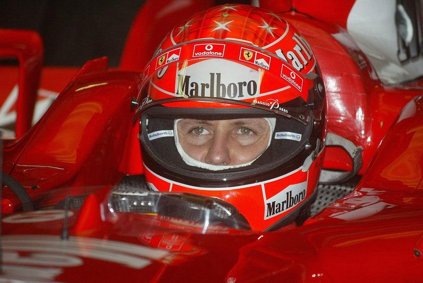Schumacher był przytomny i miał otwarte oczy