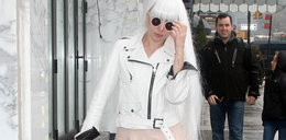 Pudrowa królewna? Nie, to Lady Gaga