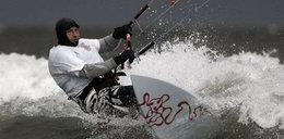 Poszukiwania polskiego kitesurfera. Boże! Przecież tam są rekiny