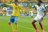 Mlada fudbalska reprezentacija Švedske, Mlada fudbalska reprezentacija Engleske