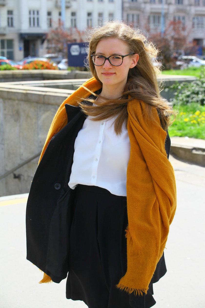 Marta Dzik (19 l.), mieszkanka stolicy: