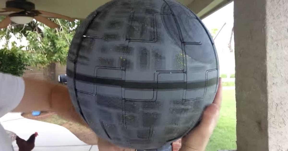 So Wird Aus Der Star Wars Ikea Lampe Wirklich Der Todesstern Noizz
