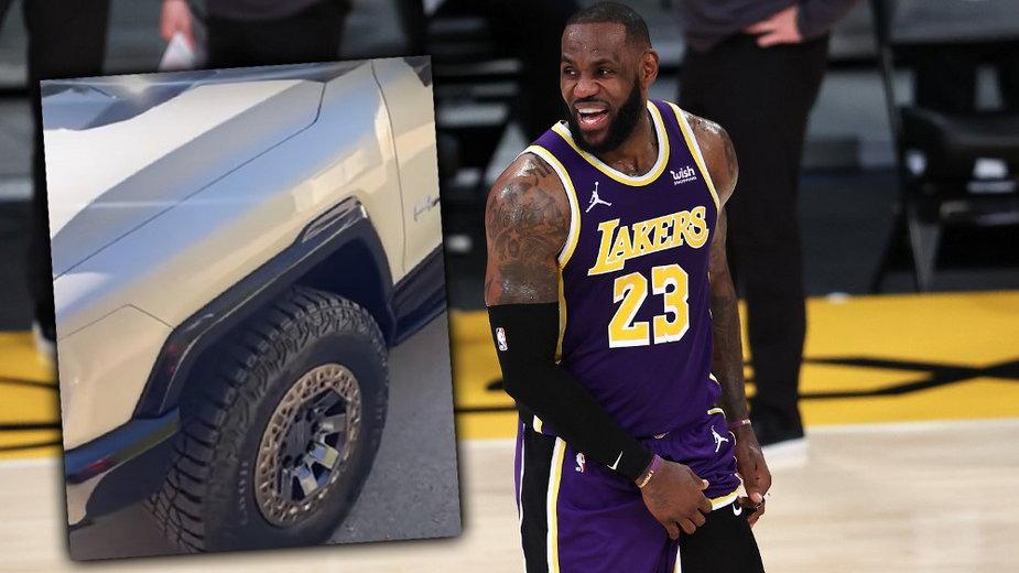 NBA: LeBron pochwalił się najnowszym prezentem