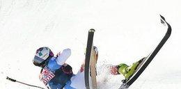 Potworny wypadek w alpejskim PŚ. Szwajcar pędził z prędkością 145 km/h