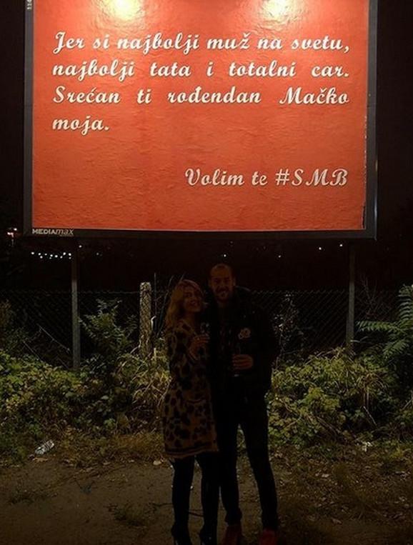 Snežana Borjan je na ovaj način čestitala rođendan golmanu Zvezde