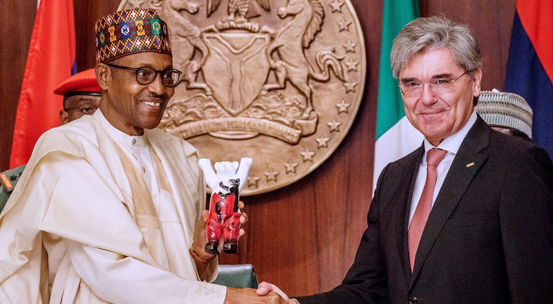 Nigeria signs deal with Siemens to upgrade the country's electricity supply to 11,000 megawatts by 2023