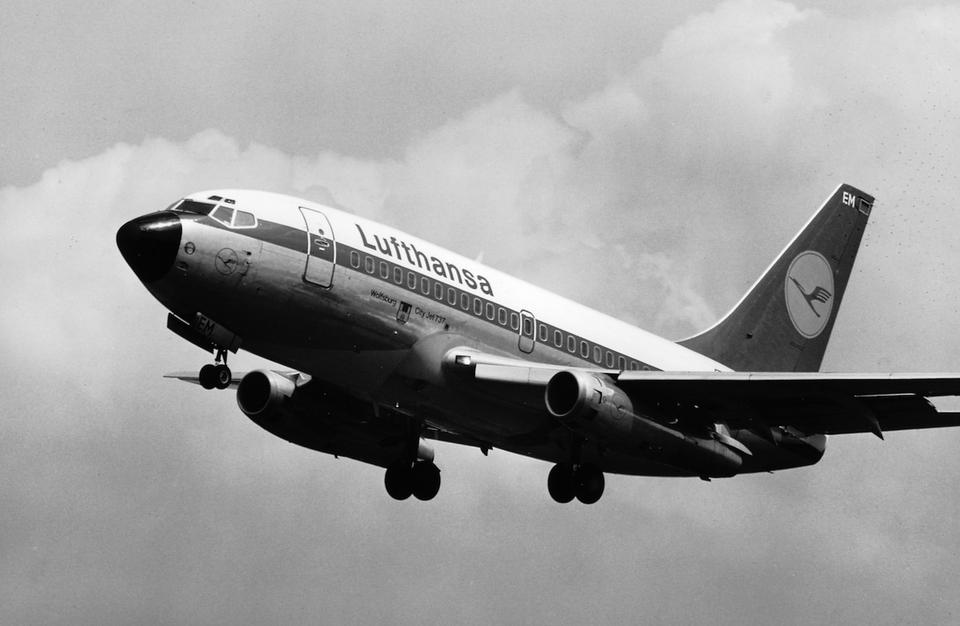 Boeing 737-100. Zdjęcie z 1967 roku