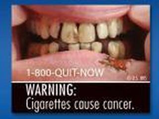 Odrażające papierosy, czyli jak będą straszeni amerykańscy palacze