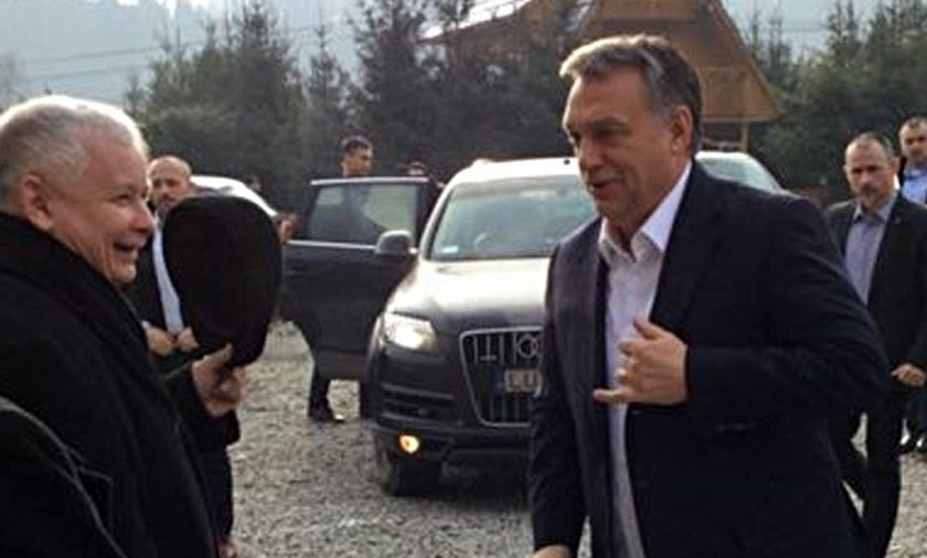 Spotkanie Kaczyński Orban