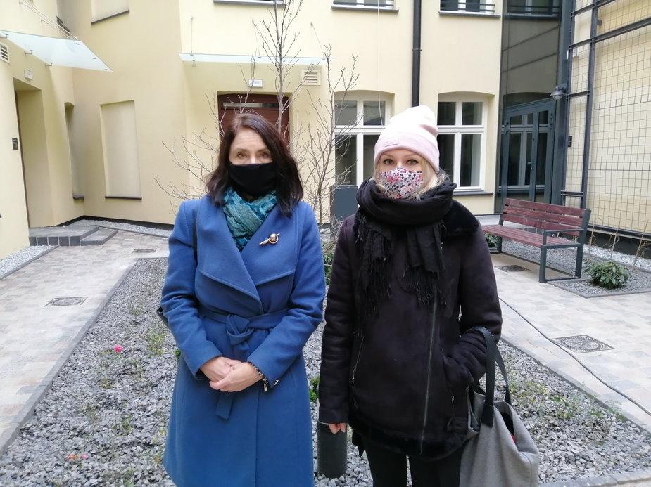 Pani Paulina i Agnieszka Wojciechowska van Heukelom