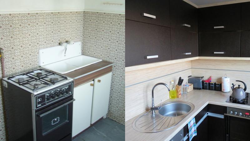 Jak urządzić małą kuchnie w bloku?  Dom -> Mala Kuchnia W Bloku Inspiracje