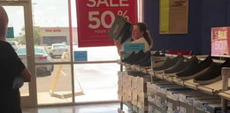 Obrzuciła ekspedientkę butami. Nie uwierzysz, o co poszło