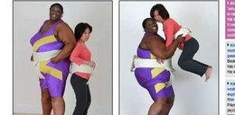 Sportsmenka waży dwieście kilogramów!