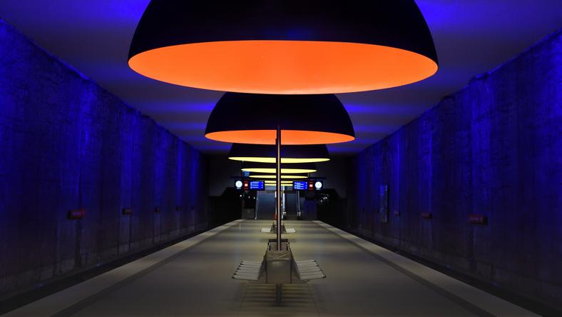 Stacja metra w Monachium