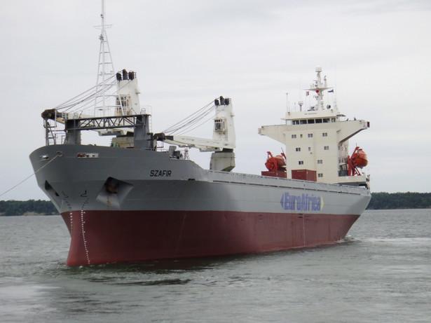 """Pięciu Polaków zostało uprowadzonych ze statku """"Szafir"""" w piątek u wybrzeży Nigerii"""