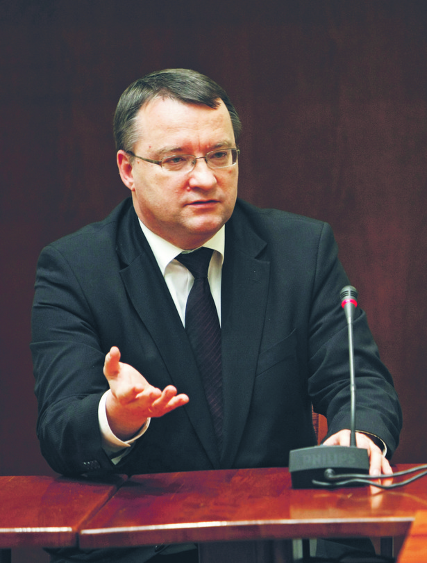 Marek Biernacki, minister sprawiedliwości