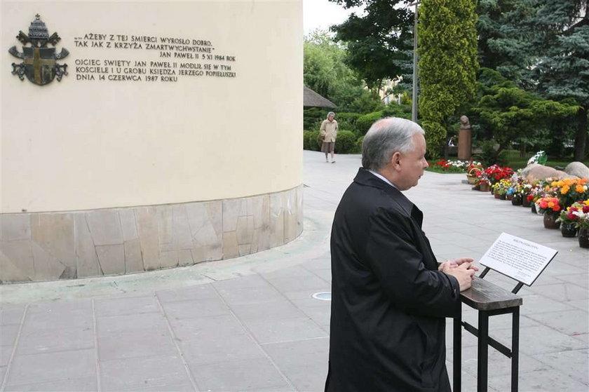 Jarosław Kaczyński, modlitwa, wybory prezydenckie