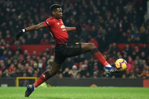 Paul Pogba scored in Manchester United's late comeback to snatch a 2-2 draw at home to Burnley on Tuesday