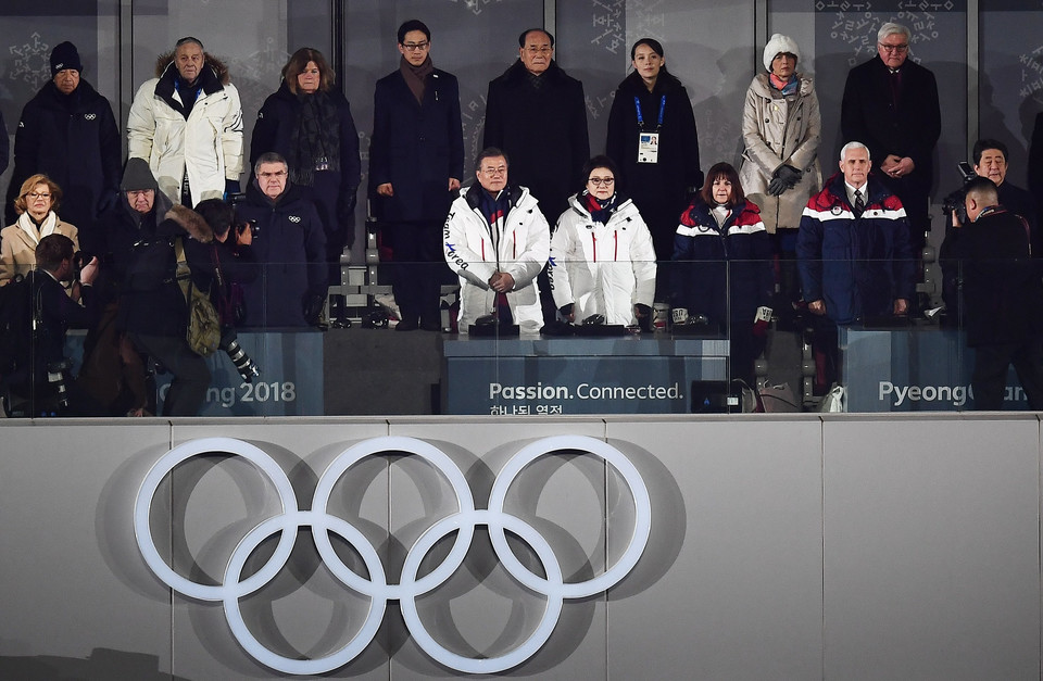 epa06508097 - SOUTH KOREA PYEONGCHANG 2018 OLYMPIC GAMES (Opening Ceremony - PyeongChang 2018 Olympic Games)