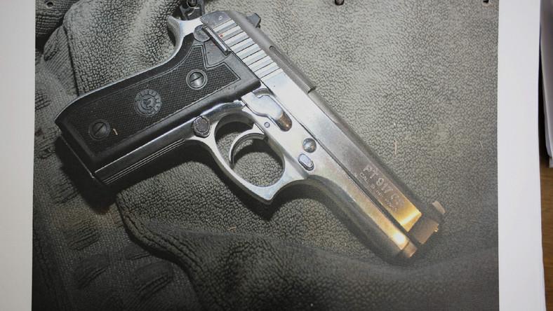 Pistolet, z którego zginęła Reeva Steenkamp...