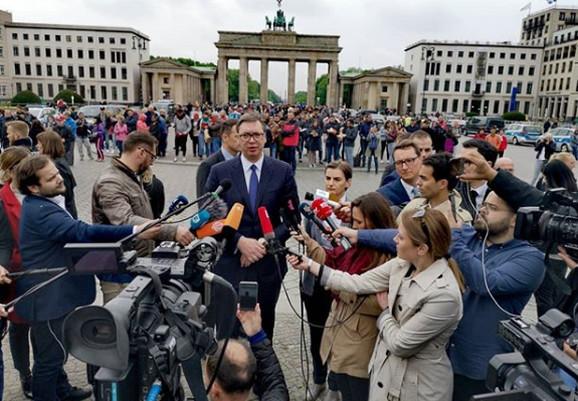 Vučić u Berlinu
