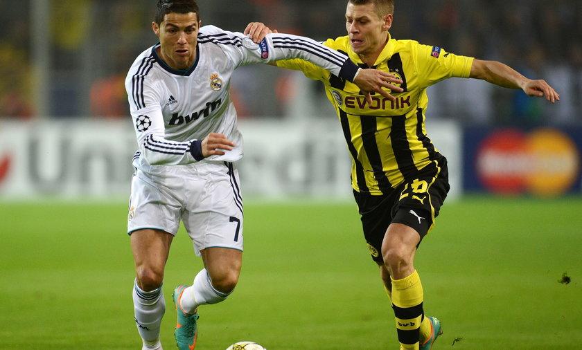 Łukasz Piszczek wyeliminował z gry Cristiano Ronaldo