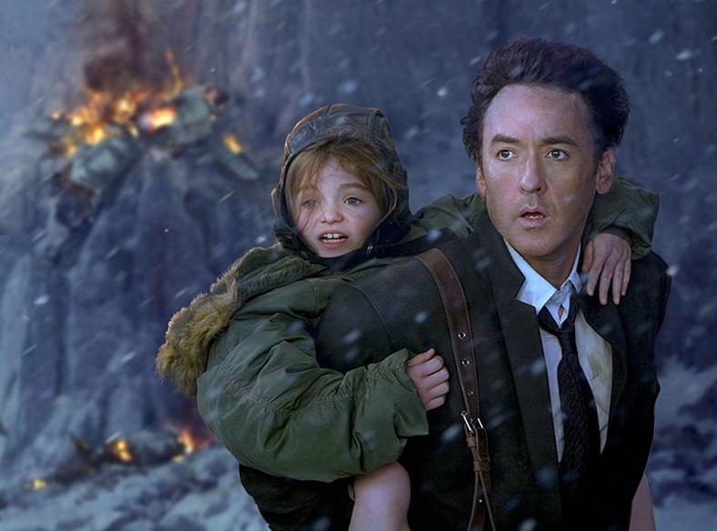 "John Cusack i Morgan Lily w filmie ""2012"""