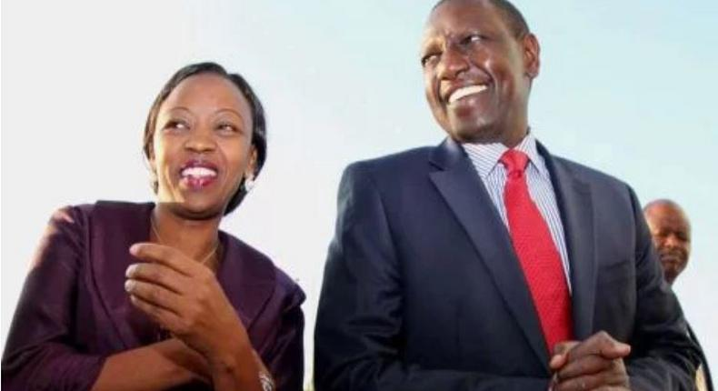 File image of DP Ruto with his wife Rachel Ruto