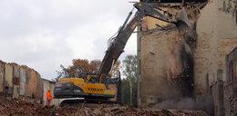 Ruiny znikają z Ogrodowej