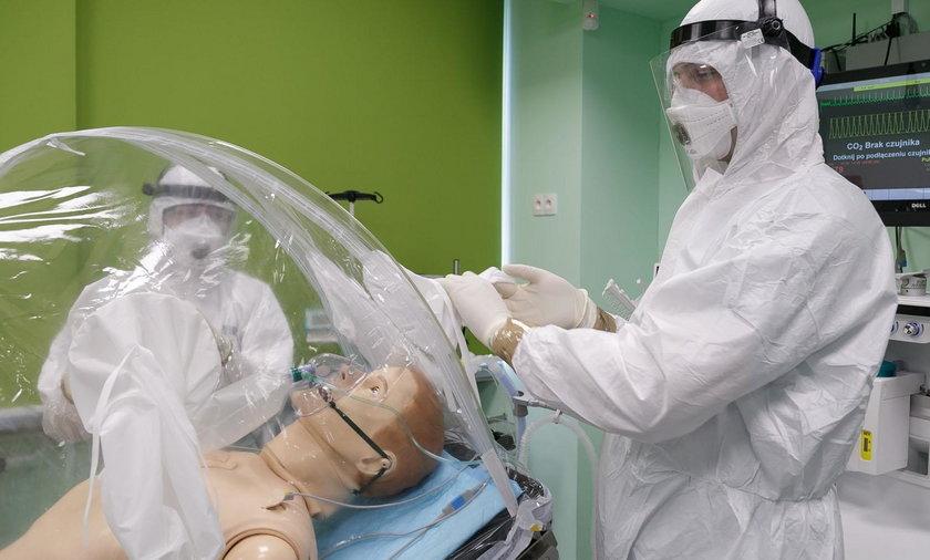 Namiot na zarazki to wynalazek naukowców z Warszawskiego Uniwersytetu Medycznego