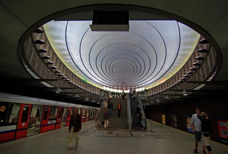 Stacja metra Plac Wilsona, w Warszawie