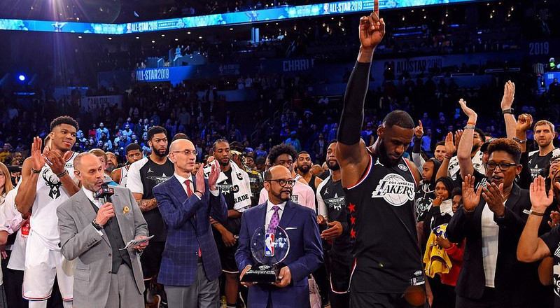 NBA: Team LeBron beats Team Giannis to round up All-Star Weekend