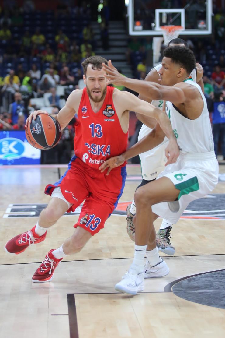 KK CSKA, KK Žalgiris