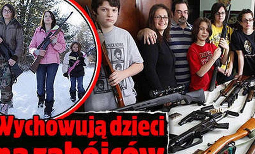 Wychowują dzieci na zabójców