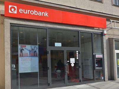 Jedna z placówek Eurobanku