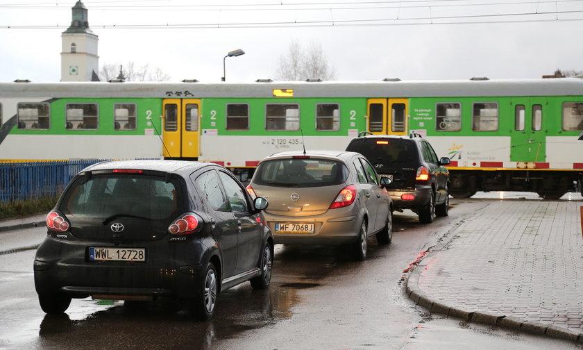 Zamykają przejazd w Zielonce