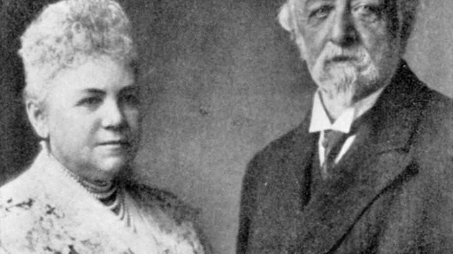 Johanna Schaffgotsch z mężem