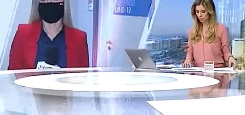 Wpadka na antenie TVP Info. Widzowie usłyszeli coś czego nie powinni. Teraz komentują: realizator i pani do zwolnienia
