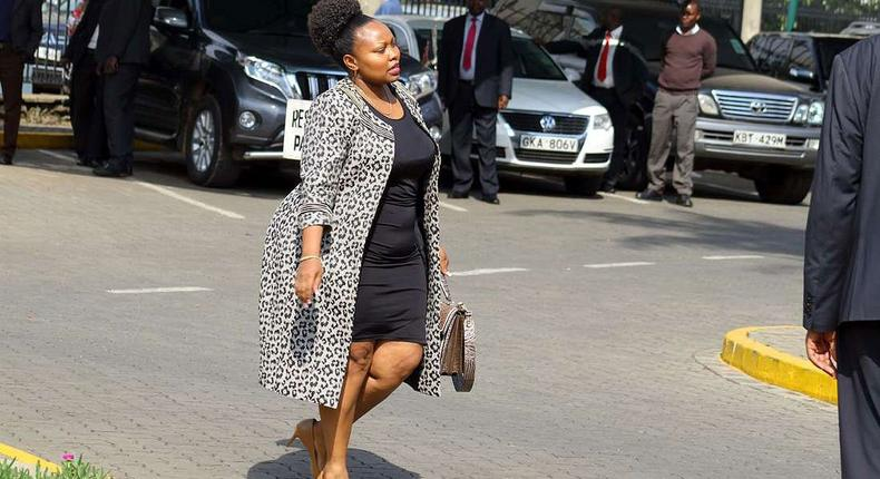 Millicent Omanga offers to pay legal fees for woman claiming CJ Maraga fathered her child
