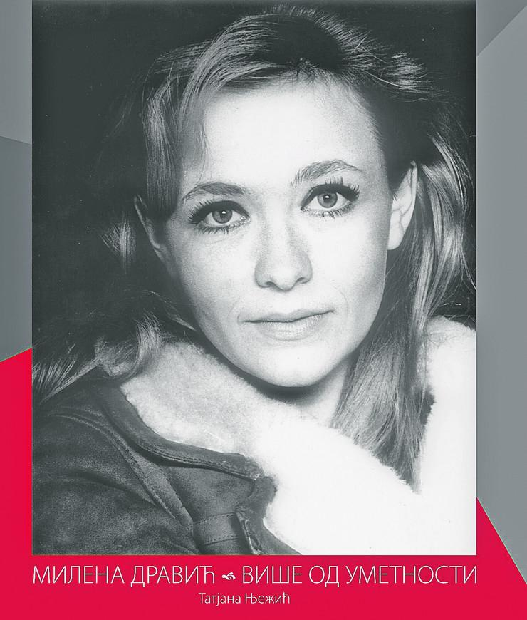 """Milena Dravić, monografija """"Milena Dravić - više od umetnosti"""""""