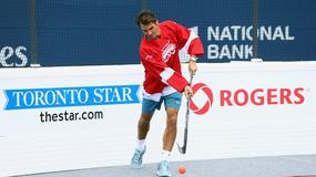Wyjątkowy trening Federera