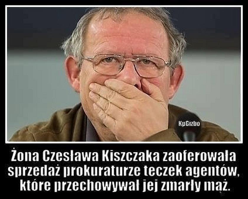 Żona Czesława Kiszczaka zaoferowała sprzedaż prokuraturze teczek agentów, które przechowywał jej zmarły mąż