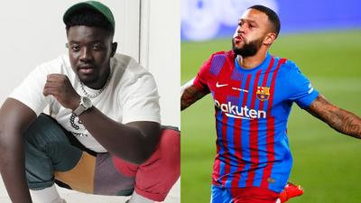 Broni counts Memphis Depay jamming to his song as a career highlight
