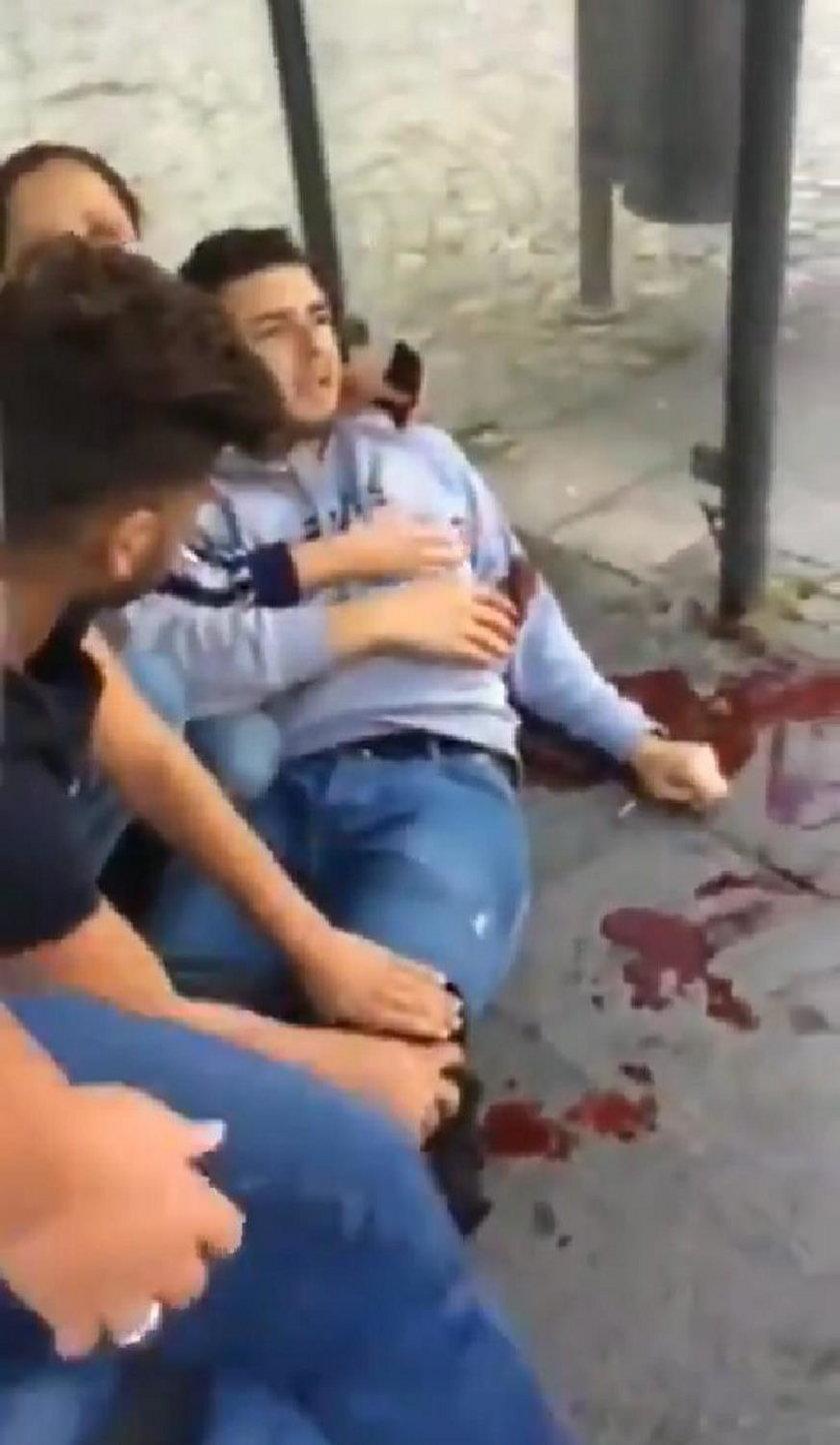Nożownik ranił trzy osoby