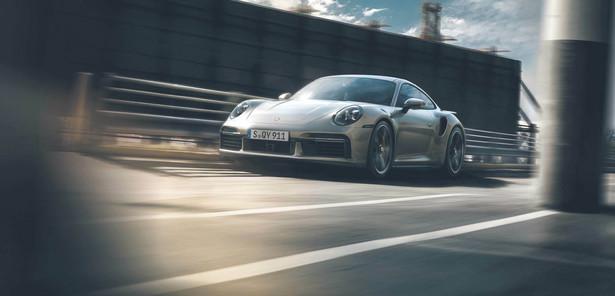 Porsche 911 Turbo S fot. Materiały prasowe