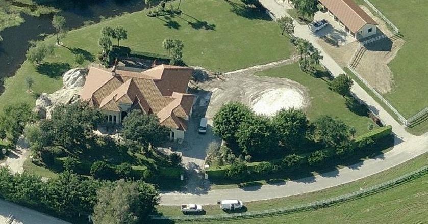 Dom Billa Gates'a w mieście Wellington